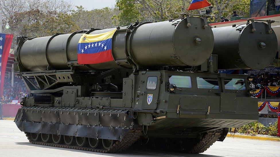 S-300 en desfile militar de Venezuela.