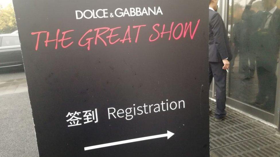 Desfile Dolce Gabbana