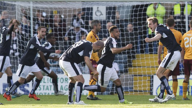 Highlights - Dundee 2-1 Motherwell