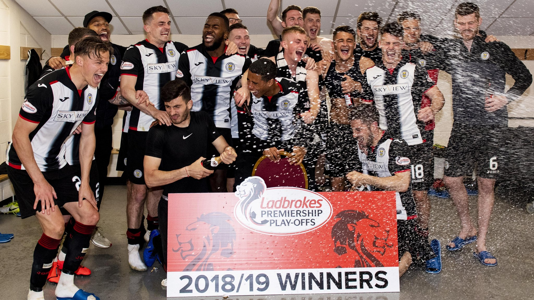 St Mirren: From 'absolute car crash' to top-flight survival