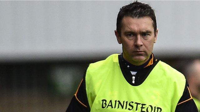 Crossmaglen Rangers joint manager Oisin McConville