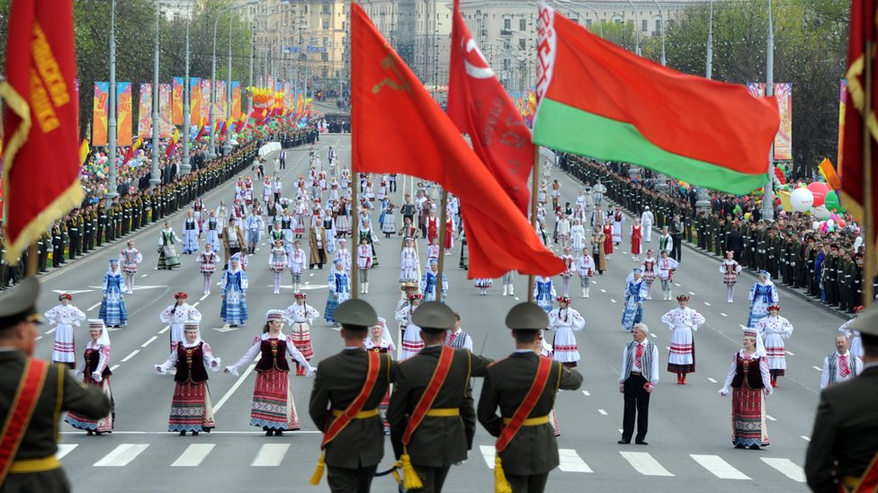 Victory Day celebrations in the capital Minsk