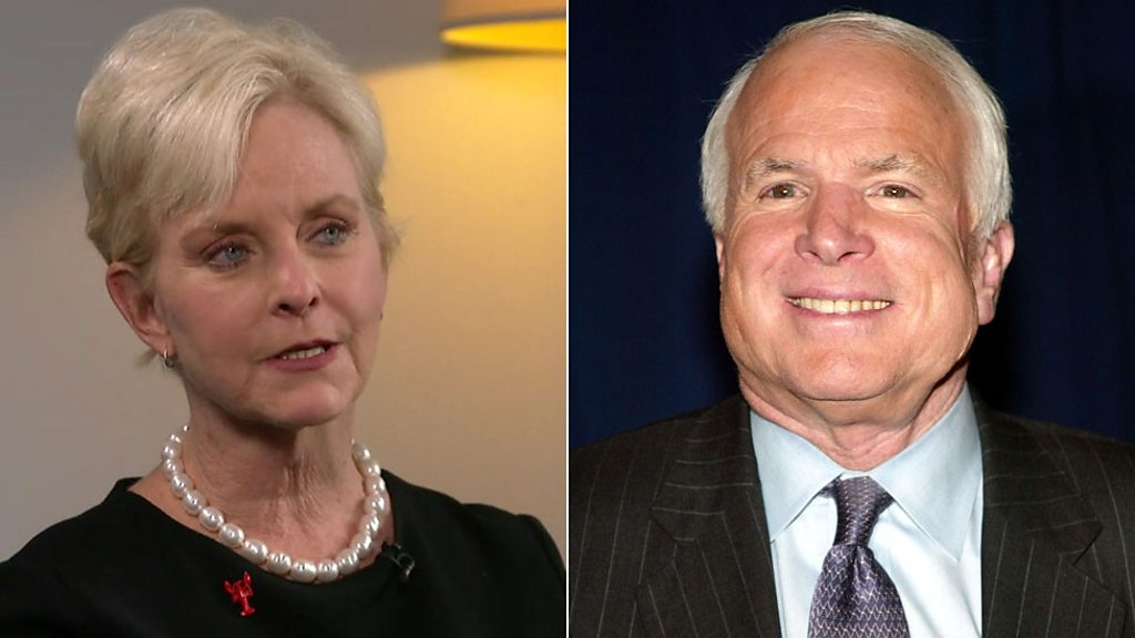 Cindy McCain: I'll never get over Trump's war hero slur on husband