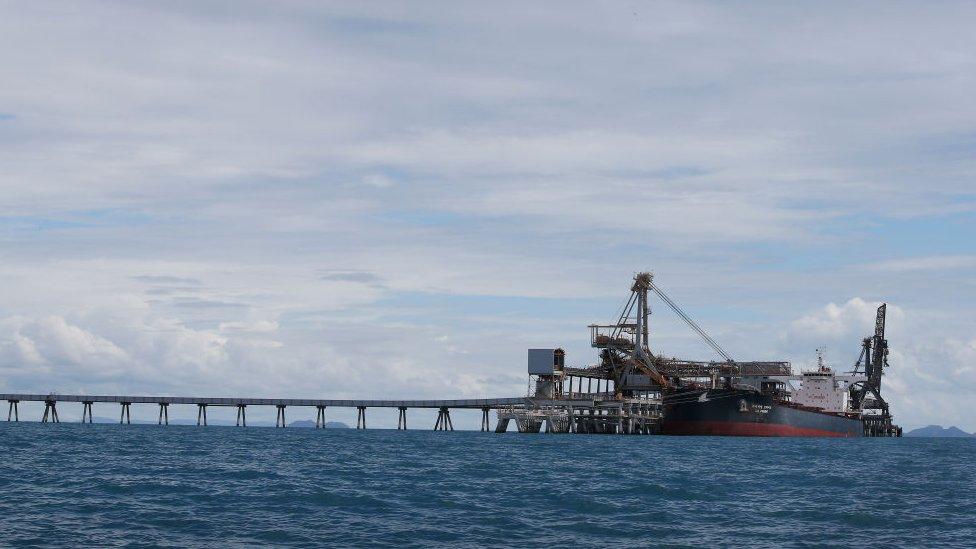 Terminal batu bara Abbot Point di Queensland