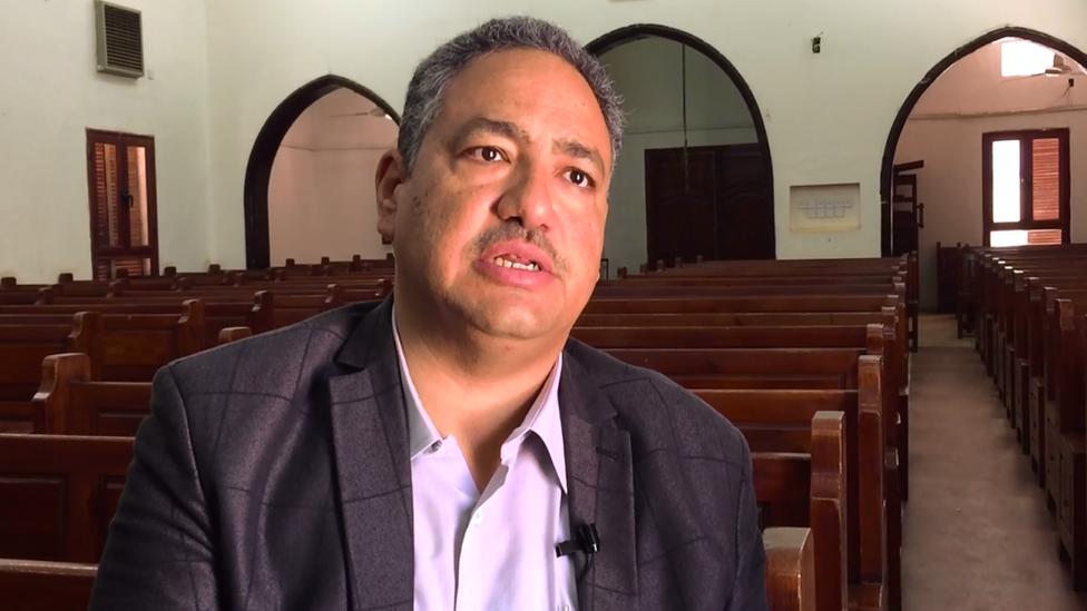 رأفت سمير - رئيس الطائفة الإنجيلية المشيخية في السودان