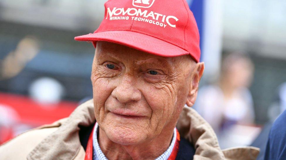 Niki Lauda en 2016