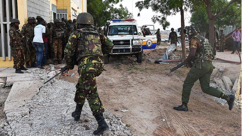 Scenes at Garissa University as al-Shabab militants attack