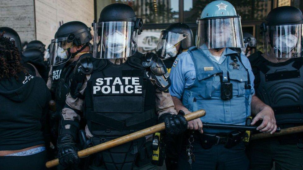 Policías en Chicago
