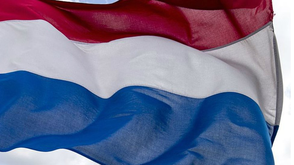 The flag of the Netherlands