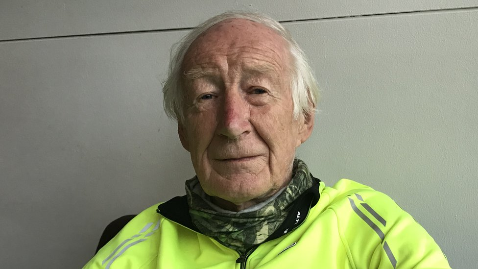 Man bids to be oldest to cycle across UK