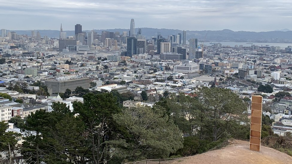 Gingerbread monolith appears in San Francisco's Corona Heights thumbnail