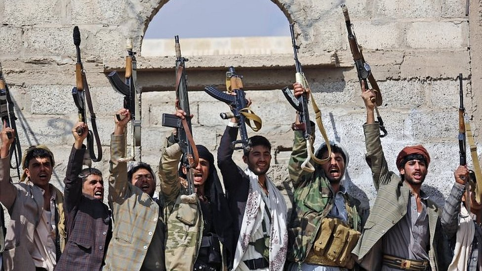 Houthi rebels (file photo)