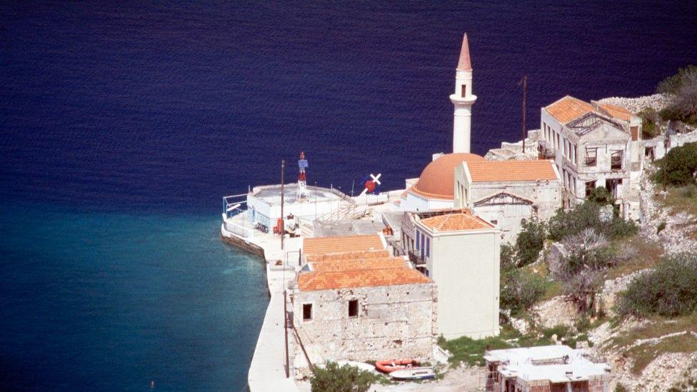 La isla griega de Kastelórizo