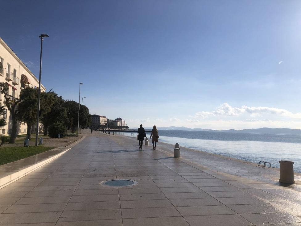 zadarska riva, Zadar