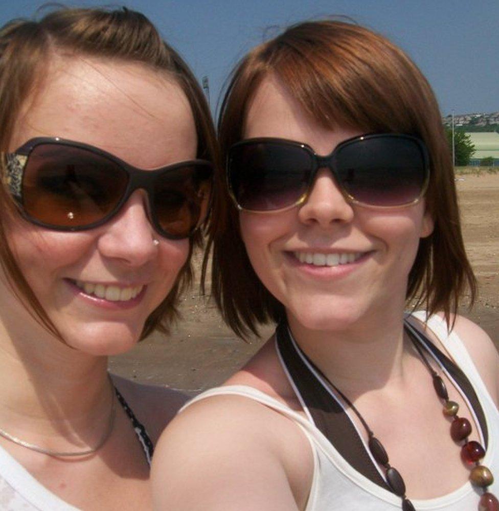 Megan and Olivia Davison