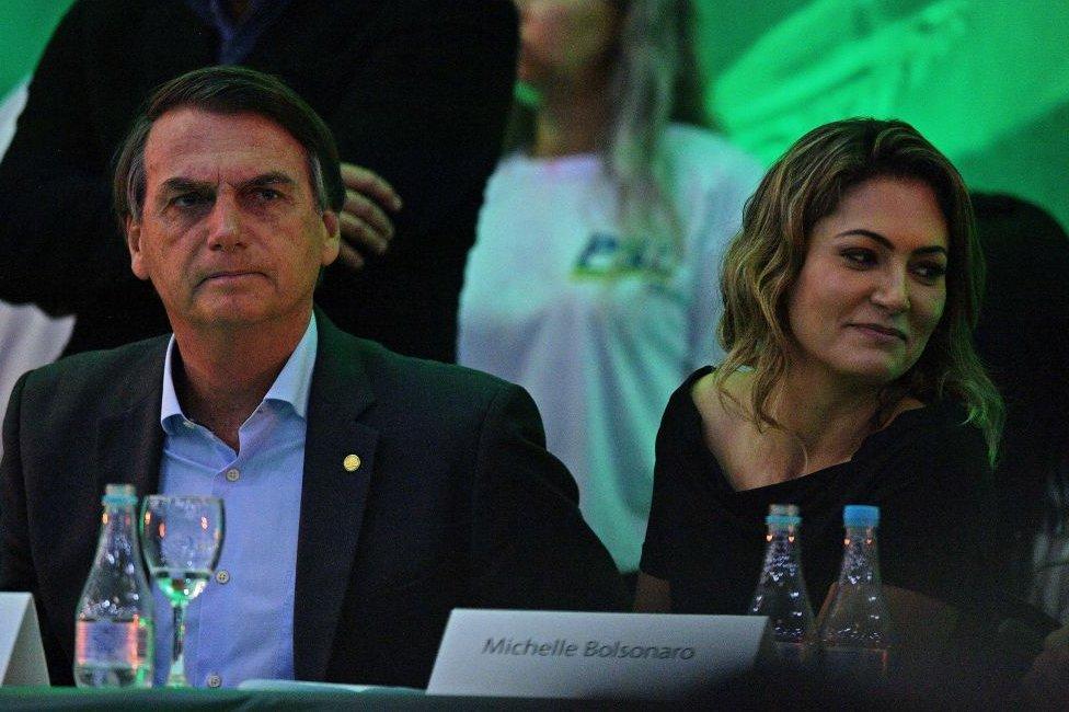Michelle Bolsonaro.