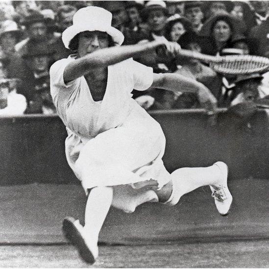 Una tenista en Amberes 1920