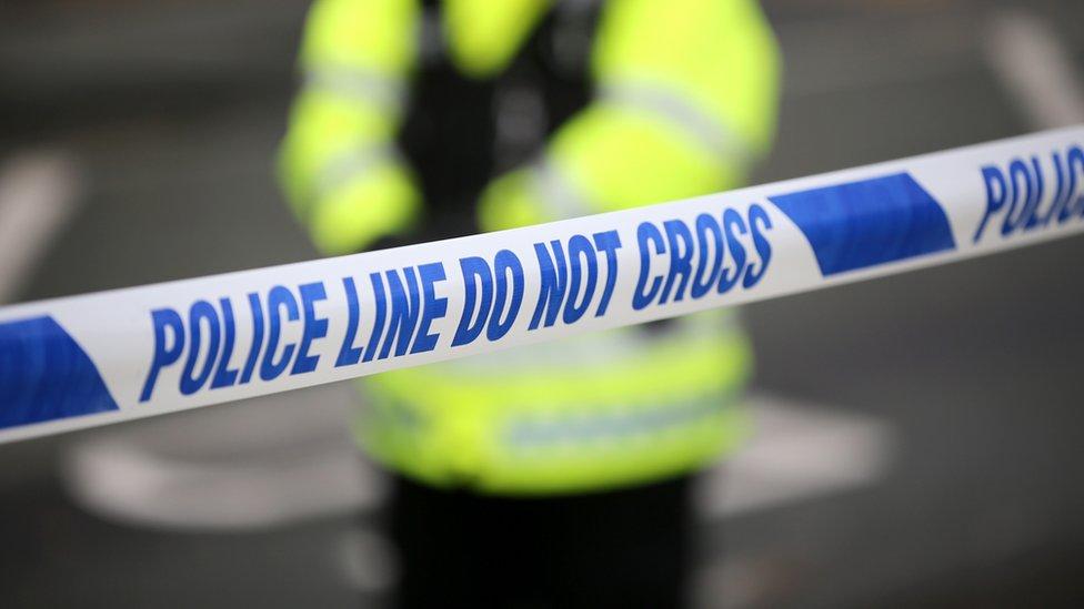 Pedestrian killed in van crash at Marton-cum-Grafton