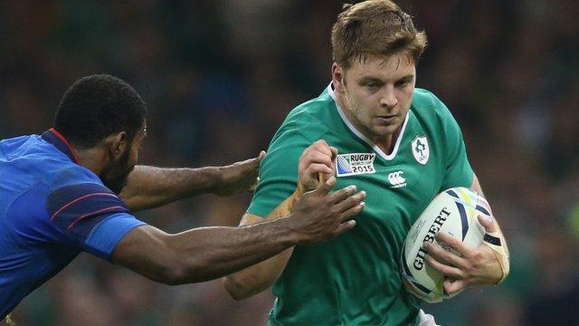 Ireland forward Iain Henderson