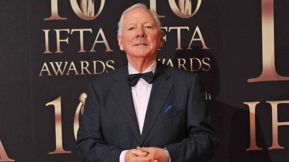 Gay Byrne pictured at the IFTAs in 2013
