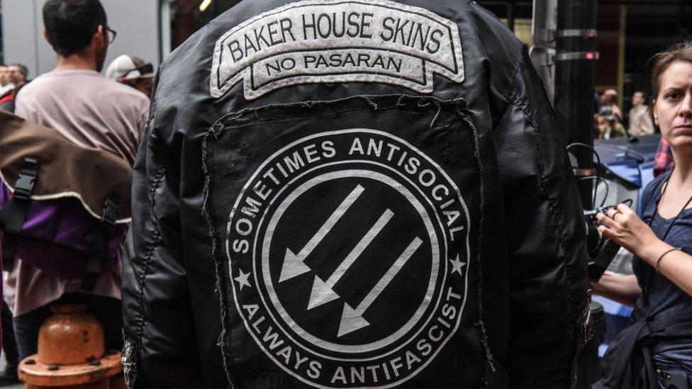 Antifascistas en Oregón, 2019