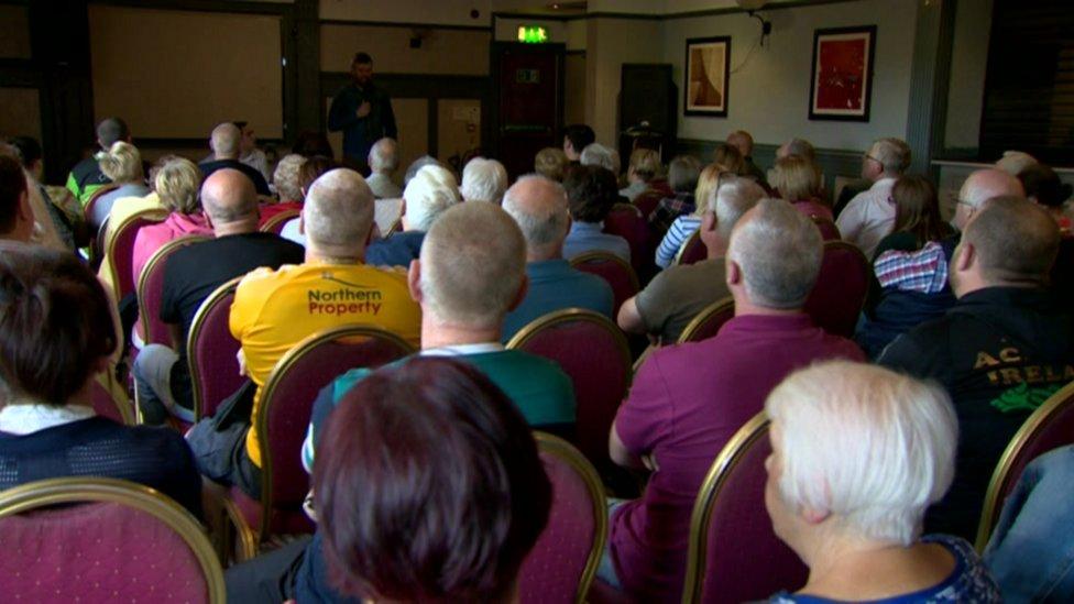 West Belfast meeting