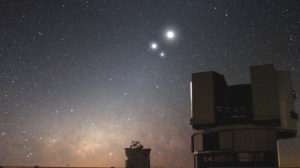 Telescopio VLT en Chile