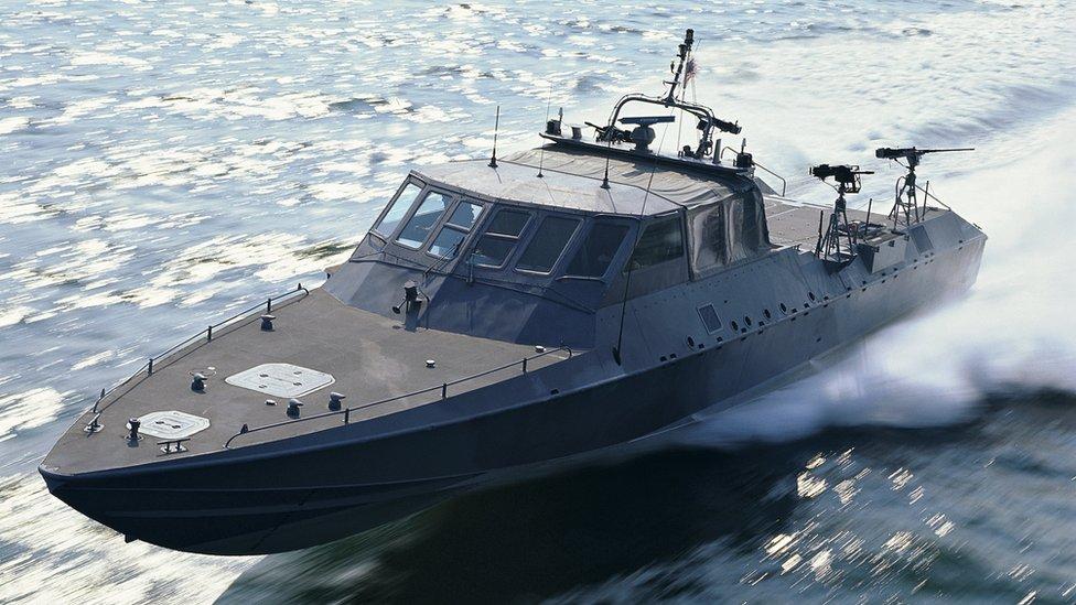 Ejercicio naval de Estados Unidos.