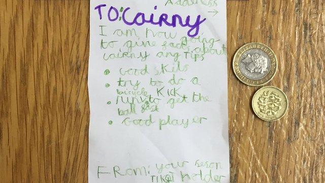 Letter to Tom Cairney