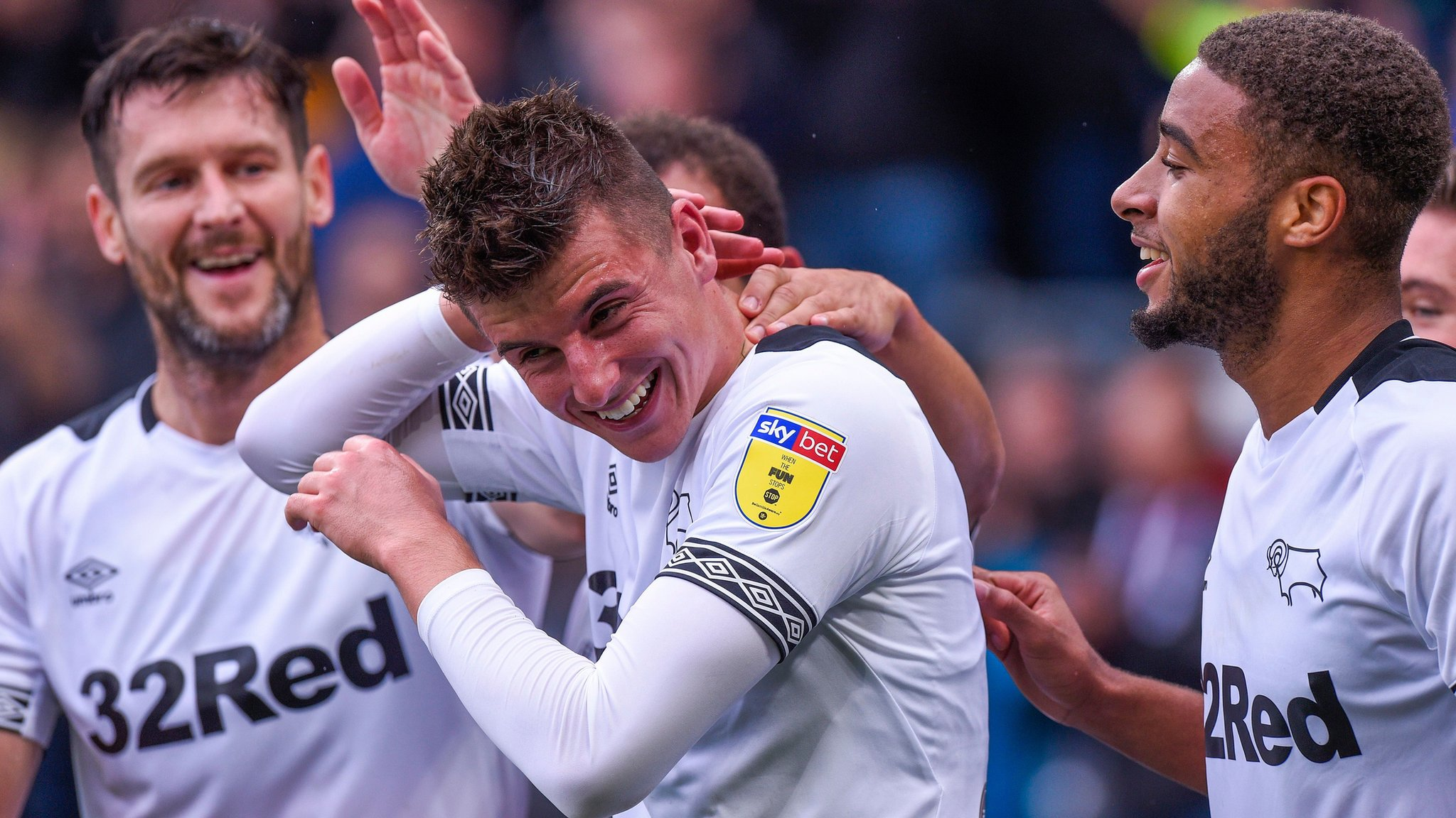 Derby County 3-1 Brentford: Rams come from behind to end Brentford's unbeaten run