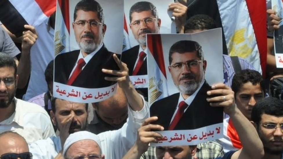 Pro-Morsi rally in Cairo (file photo)