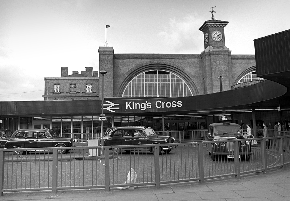King's Cross station entrance, London, date unknown