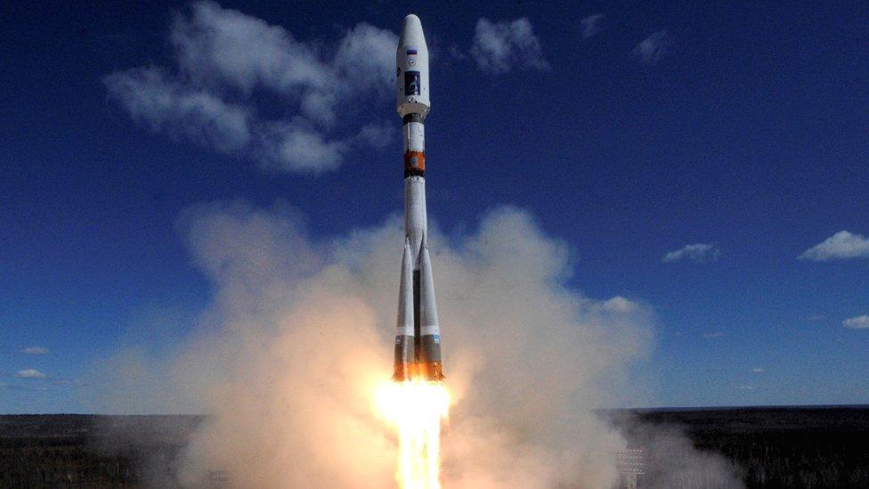 Un Soyuz lanzado desde Vostochny