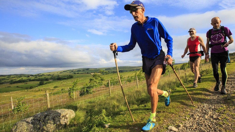 Joss Naylor: Fell runner bids to finish race 57 years on