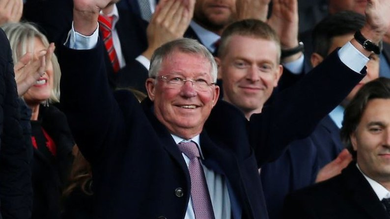 Watch: Ferguson given standing ovation on return to Old Trafford