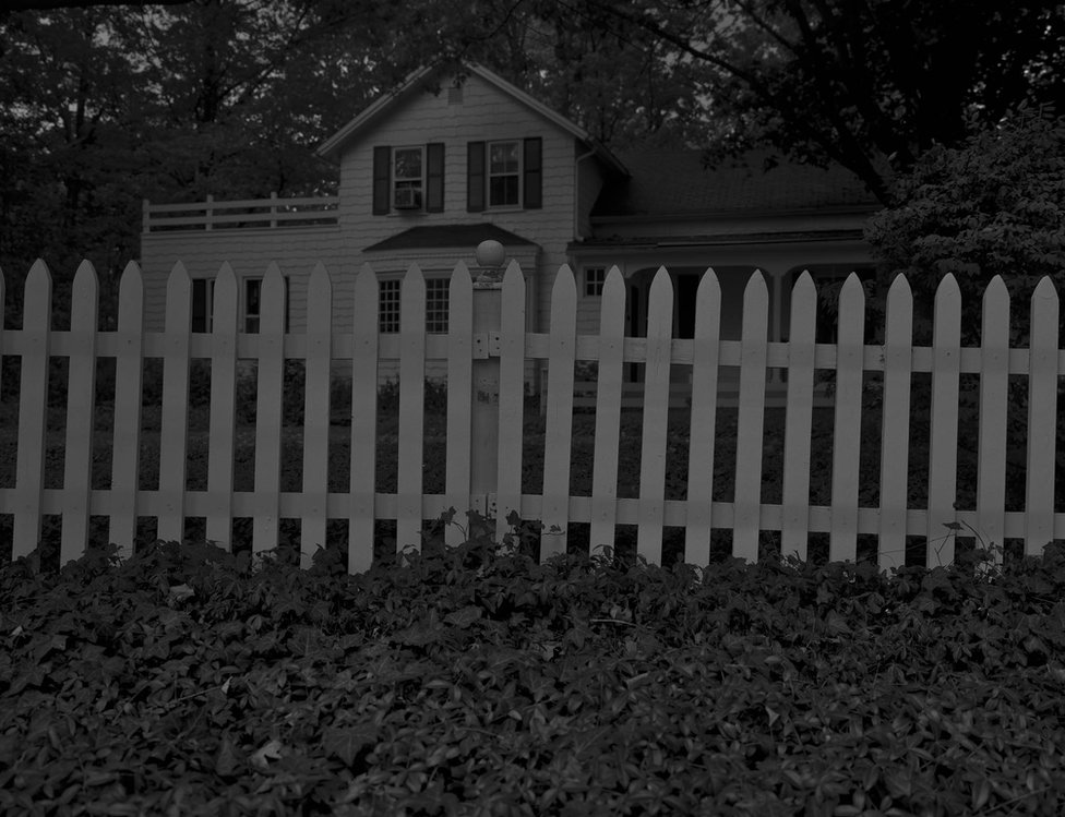 Untitled #1 (Picket Fence and Farmhouse) by Dawoud Bey