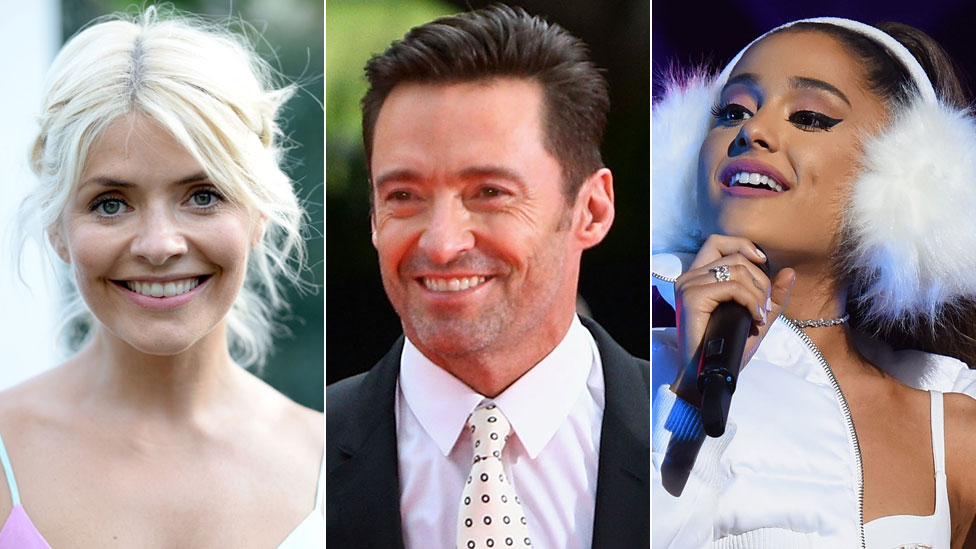 BBC News - How the celebs wished us happy new year