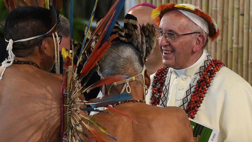 Papa Franja u Peruu