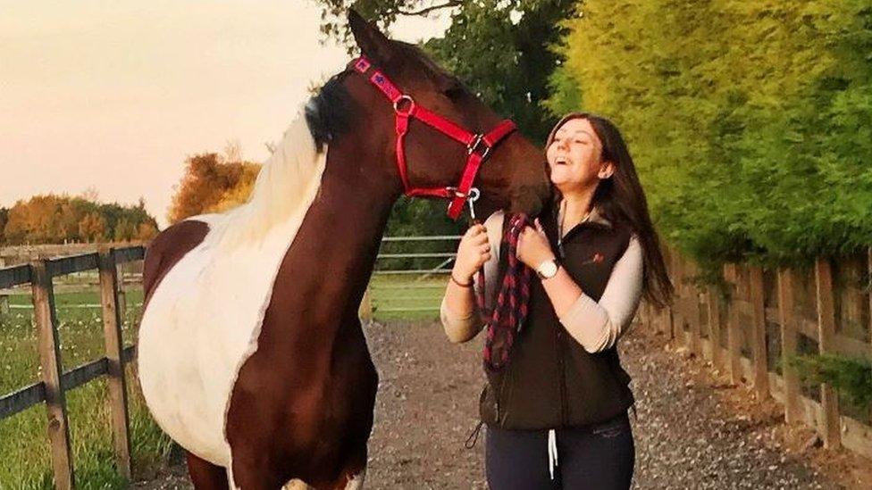 Horse left 'at death's door' in Headcorn finds new home