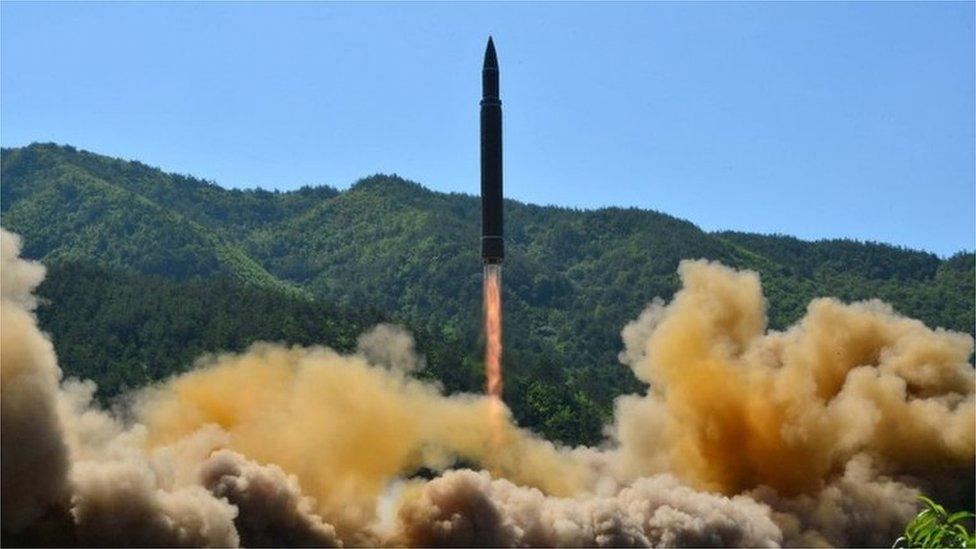 North Korean missile test July 2017