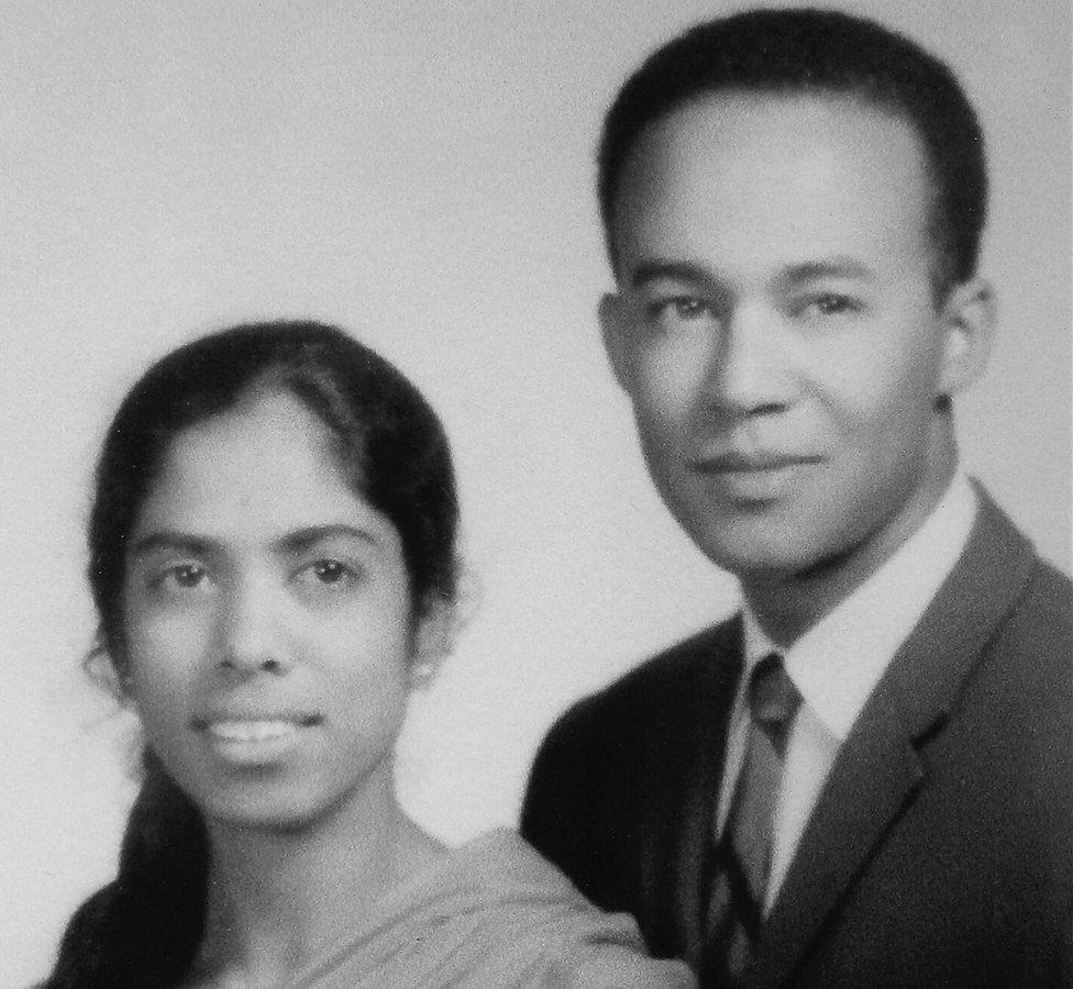 Shyamala Gopalan y Donald Harris