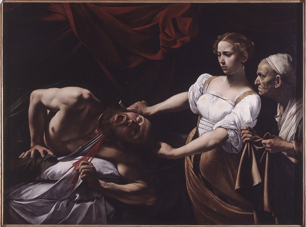 Judith Beheading Holofernes, 1599, by Caravaggio