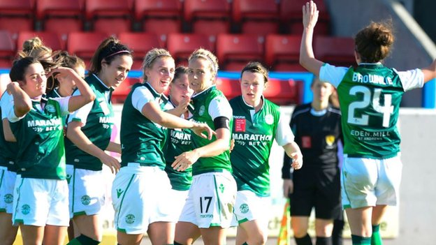 Scottish Women's Cup: Hibernian cup win doesn't hide league scars - Jamie-Lee Napier