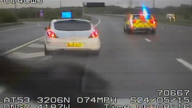 M6 police chase
