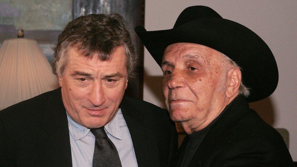 Robert De Niro y Jake La Motta
