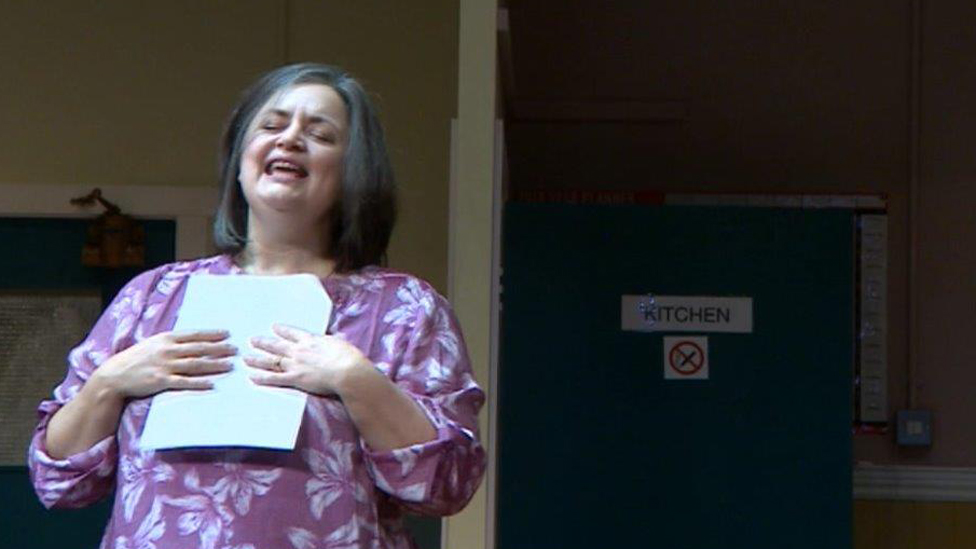 Ruth Jones returns to the stage