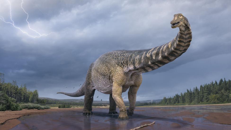 Kompjuterski prikaz australijskog dinosaurusa pre 90 miliona godina