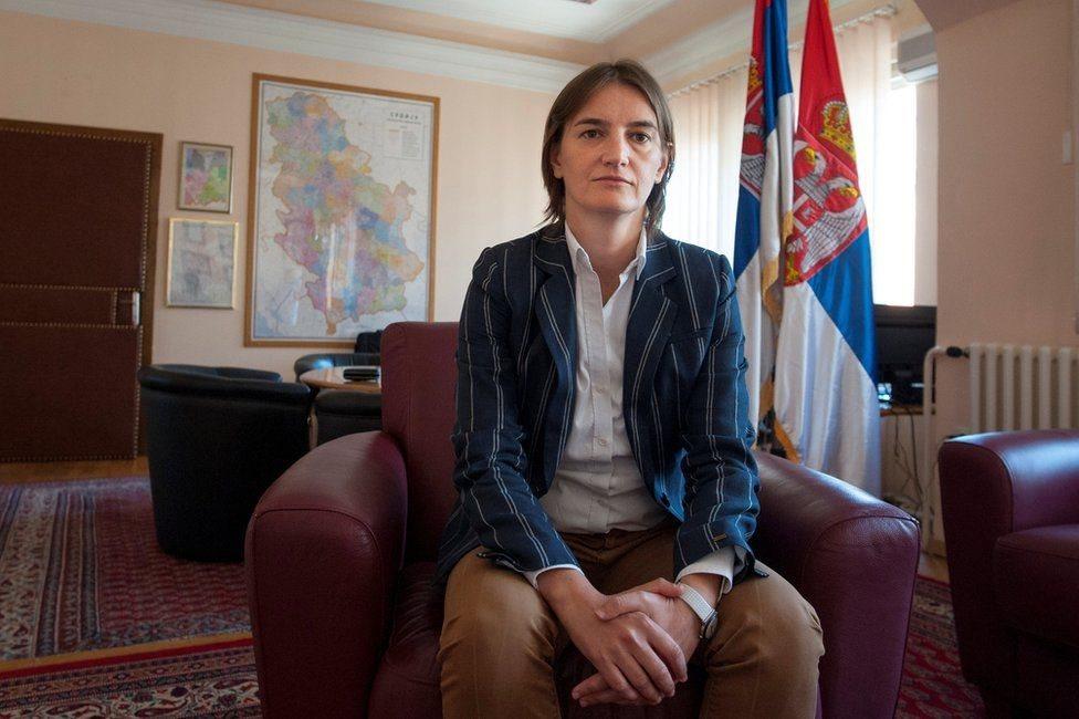 Serbia, Brnabic, gay