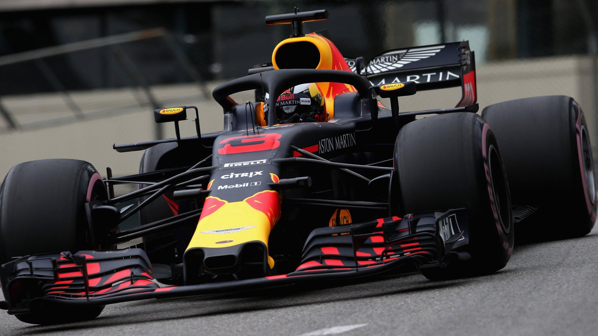 Monaco Grand Prix: Daniel Ricciardo leads Red Bull one-two in Monte Carlo
