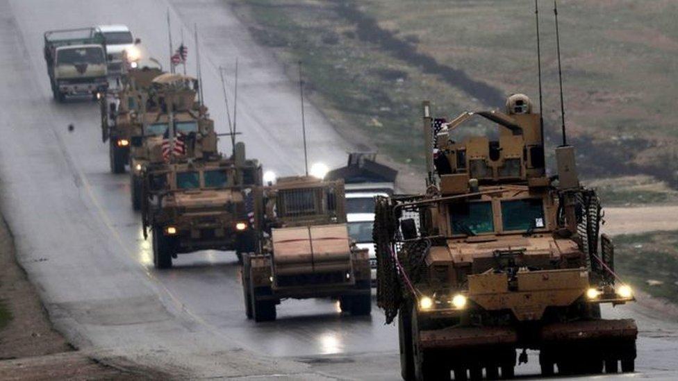 مركبات عسكرية أمريكية